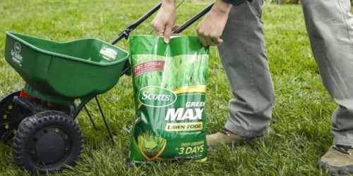 FREE Scotts Lawn Fertilizer 16.9lb Bag w/ Purchase of Scotts Turf Builder at Lowe's ($25 Value)