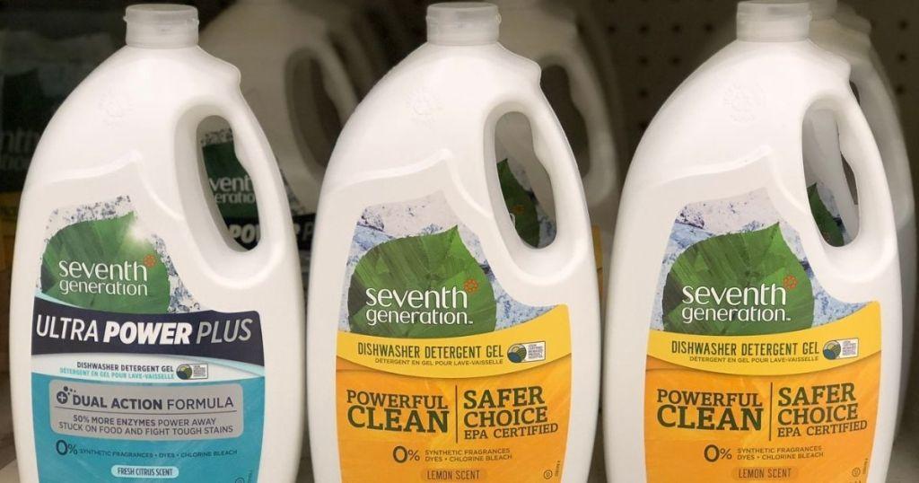 Seventh Generation Dishwasher Detergent Gel