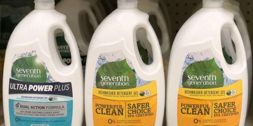 Seventh Generation Dishwasher Gel 42oz Bottle 6-Pack Only $18.43 Shipped on Amazon (Regularly $29)