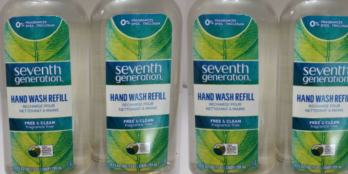Seventh Generation Hand Wash Refill 24oz Bottle 3-Pack Only $12.58 Shipped on Amazon (Just $4.19 Each)