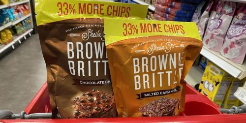 Sheila G's Brownie Brittle Only $1.50 After Cash Back at Target (Regularly $3)