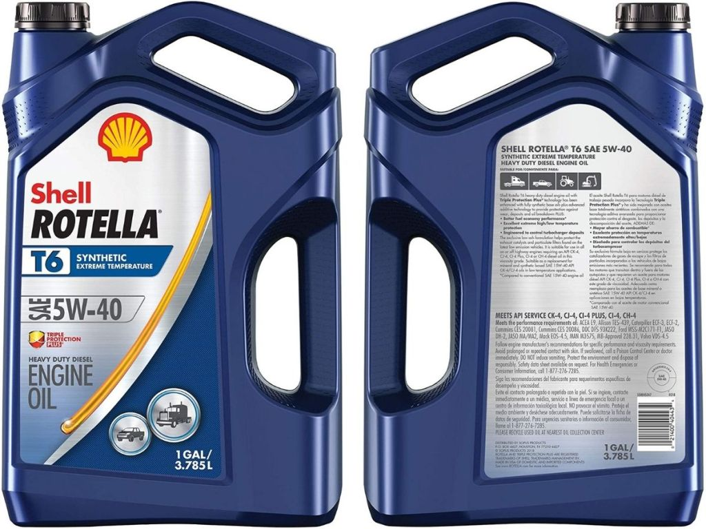 Shell Rotella T6 Engine Oil