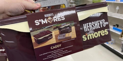 This Hershey's Chocolate Bar-Shaped Caddy Holds Everything You Need for Making S'mores