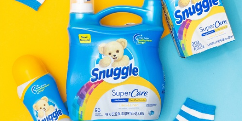 Snuggle Fabric Softener 95oz Bottles Only $5.47 Each on Amazon