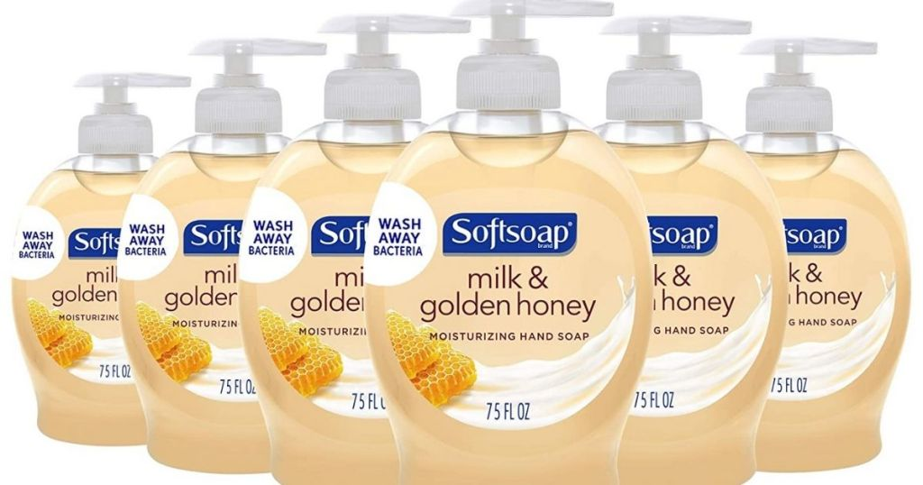 Softsoap Milk and Honey 6-pack