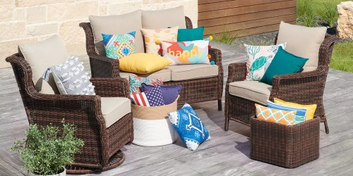 Colorful Outdoor Throw Pillows from $7 Shipped for Select Kohl's Cardholders (Regularly $20)