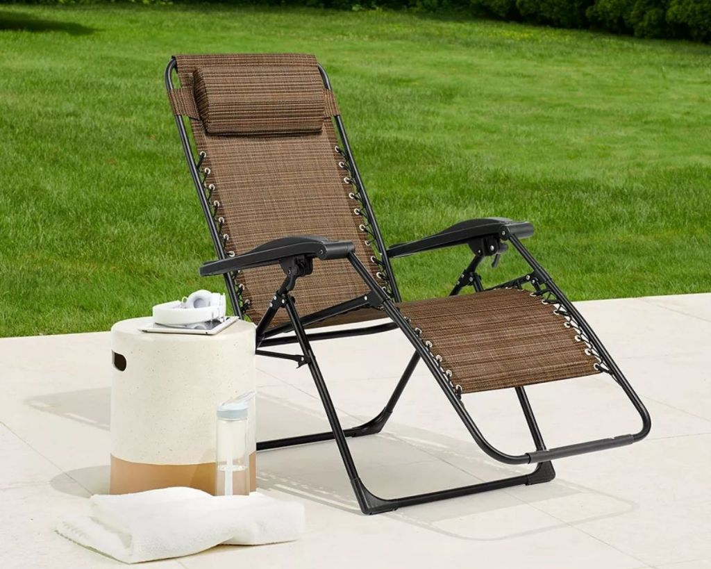Sonoma Goods for Life Antigravity Chair outside