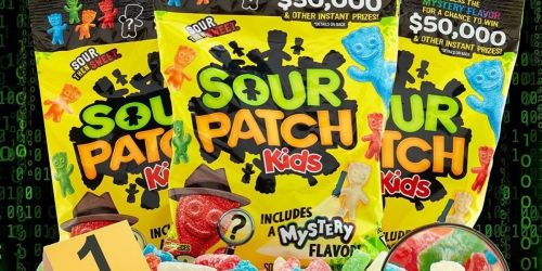 Guess Sour Patch Kids NEW Mystery Flavor To Win $50,000 + Instant Win Prizes   No Purchase Necessary