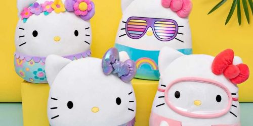 Exclusive Squishmallow Hello Kitty Collection Now Available on Costco.com