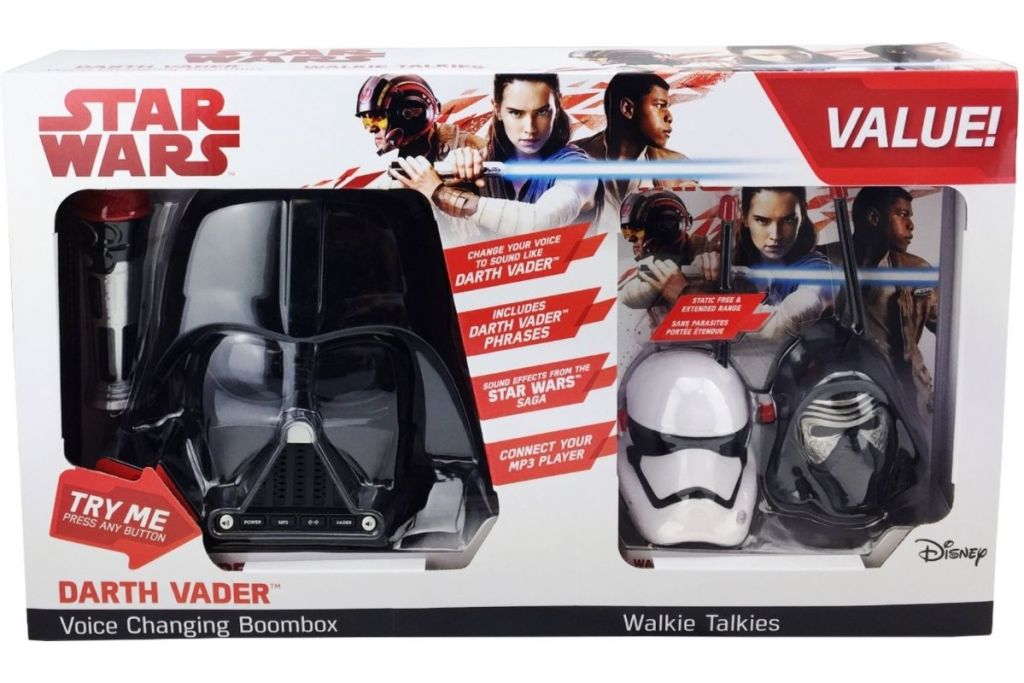 Star Wars Darth Vader Boombox in packaging
