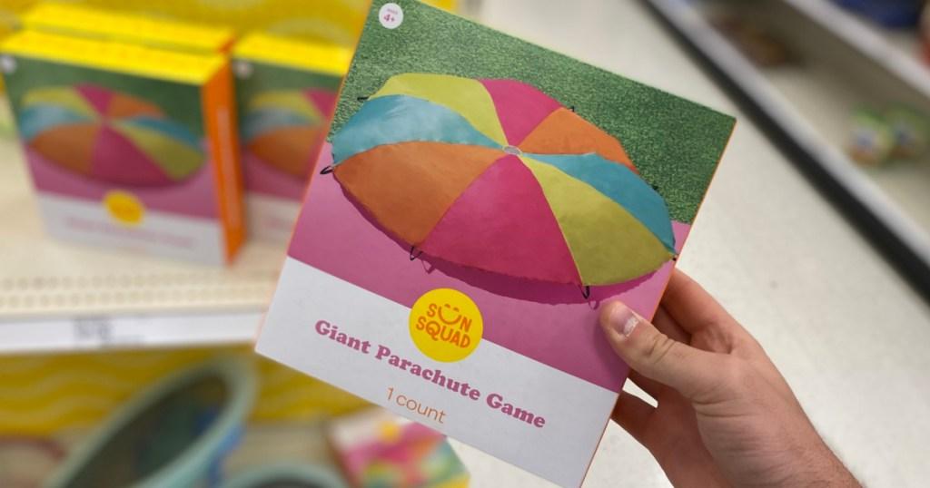 Sun Squad brand parachute toy