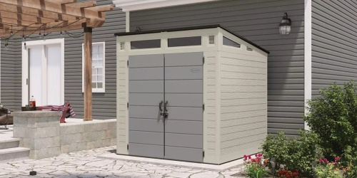 Suncast 7×7 Resin Storage Shed Only $749 Shipped on SamsClub.com