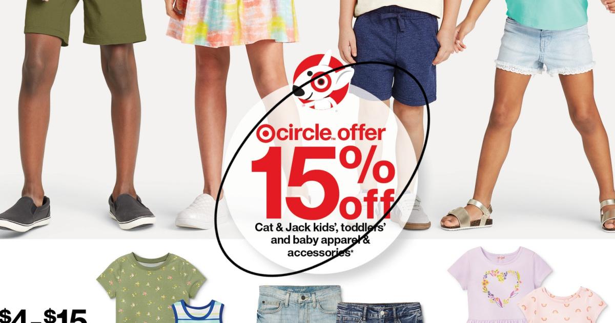 Kids clothing Target offer