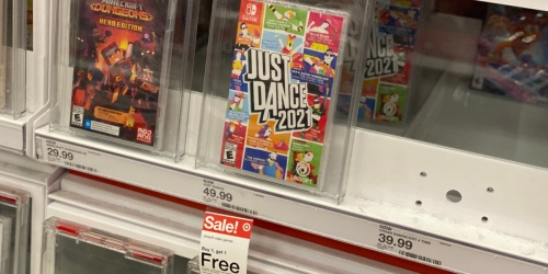 Buy 1 Ubisoft Video Game, Get 1 Free at Target   Just Dance 2021, Immortals Fenyx Rising, & More