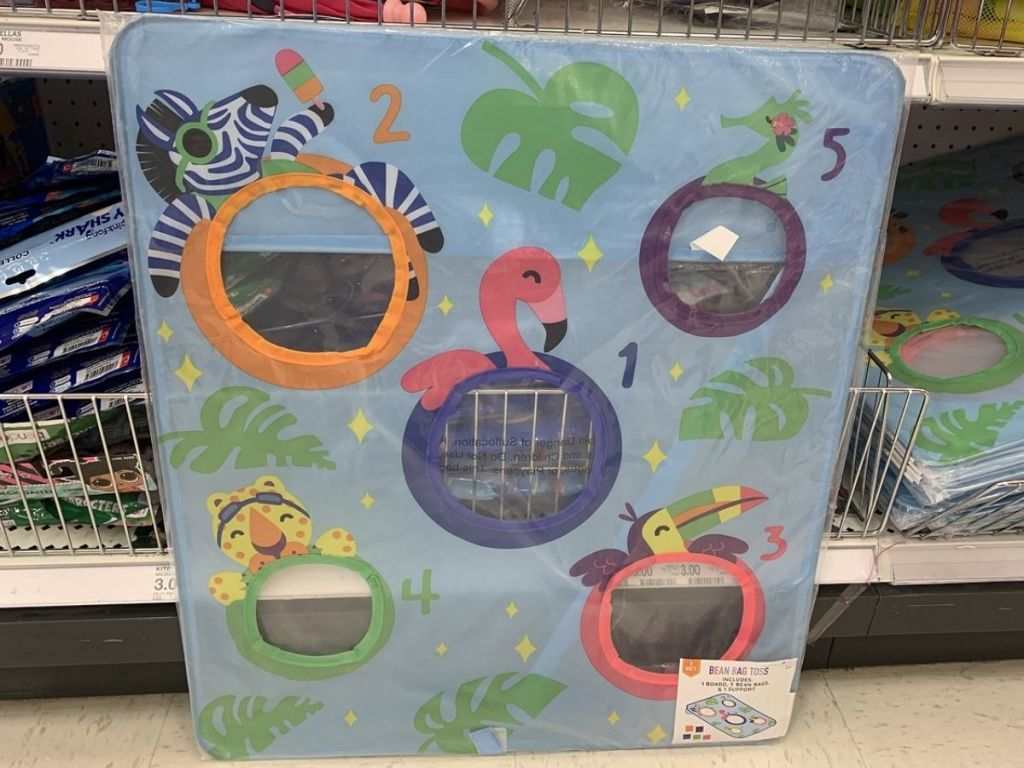 Target Bean Bag Toss Game for kids