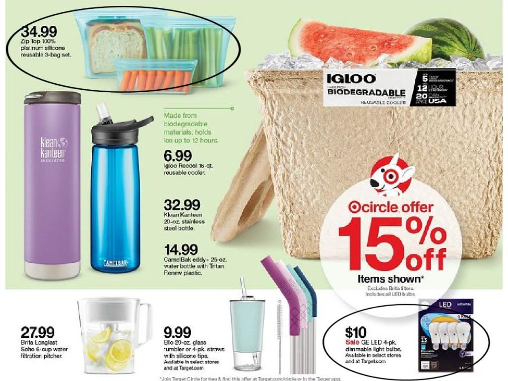 Target deals page four