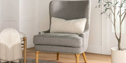 Threshold Wingback Chair Only $165 Shipped on Target.com (Regularly $300)