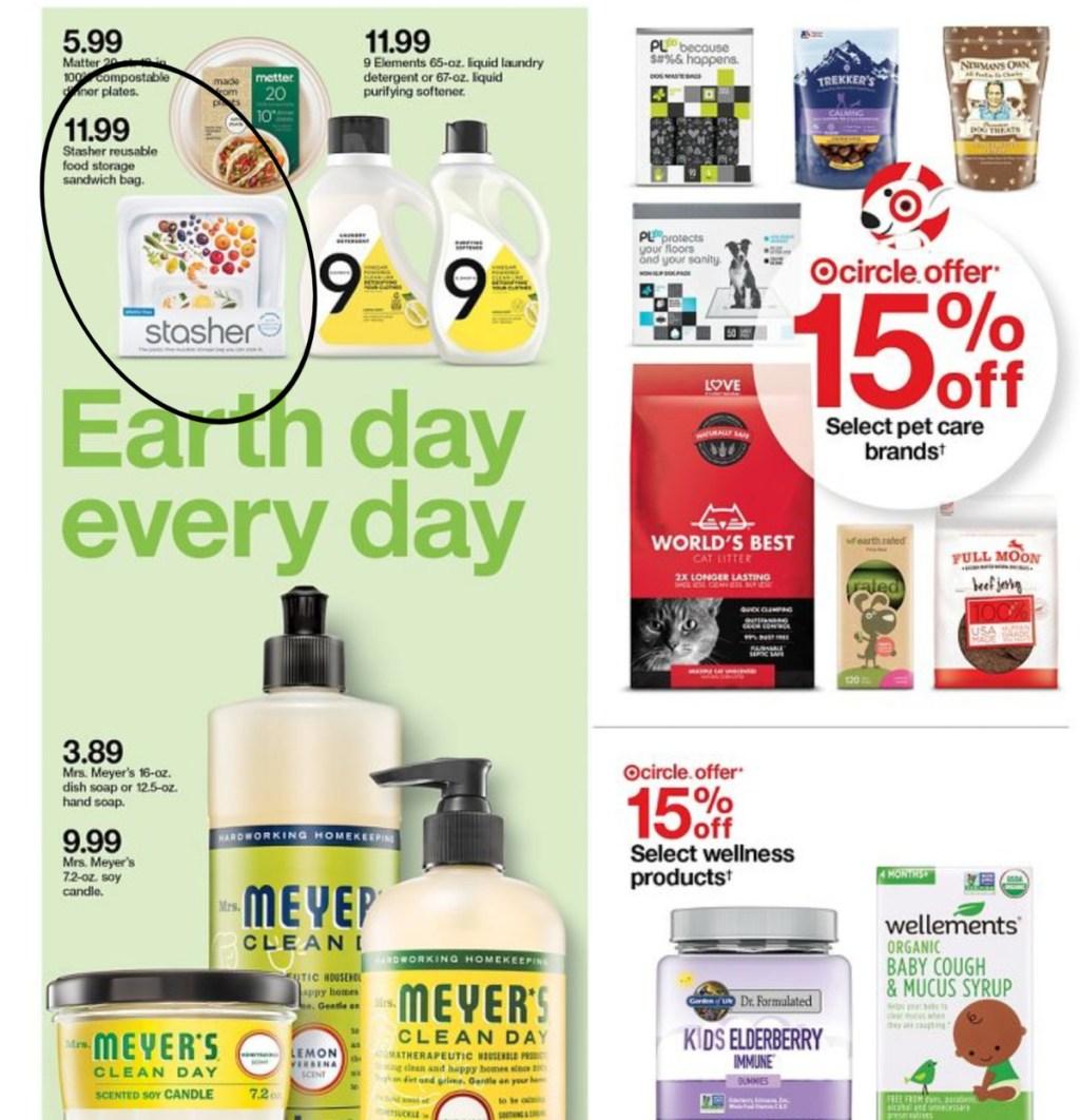 Target deals page six