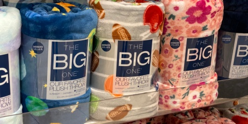 The Big One Oversized Plush Throws Only $9.59 on Kohls.com (Regularly $30)