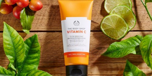 The Body Shop Vitamin C Exfoliator Only $15 Shipped on Amazon (Regularly $23)