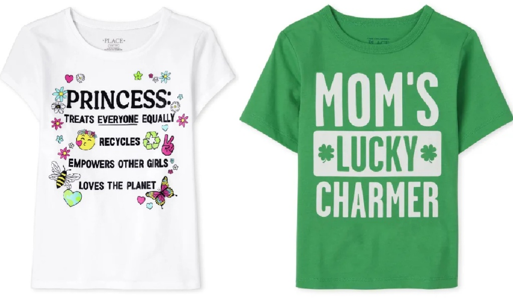 The Children's Place tees