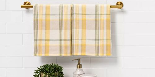 Threshold Hand Towel 2-Pack or Matching Bath Rug Only $6 on Target.com + Up to 50% Off More Home Items