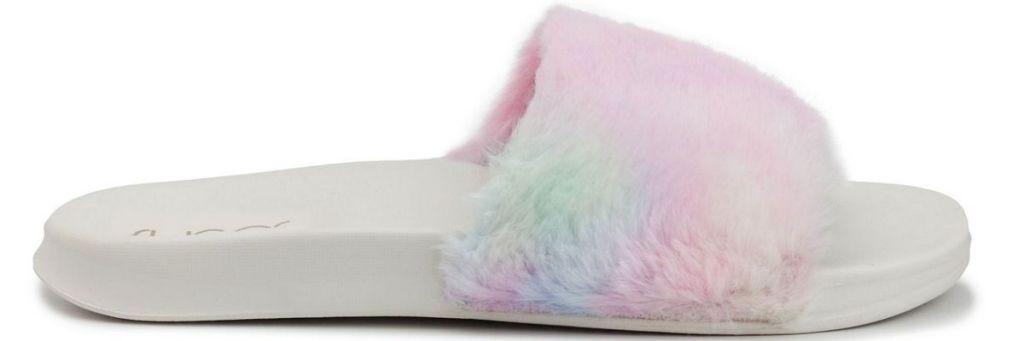 tie dye slippers