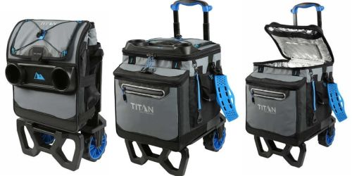 Titan Deep Freeze Rolling Collapsible Cooler Only $44.99 Shipped on Costco.com