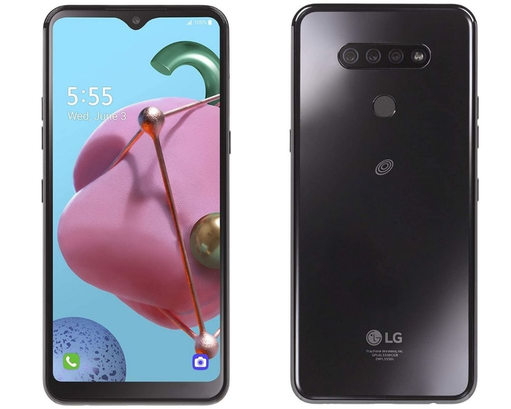 2 views of TracFone LG Reflect LTE