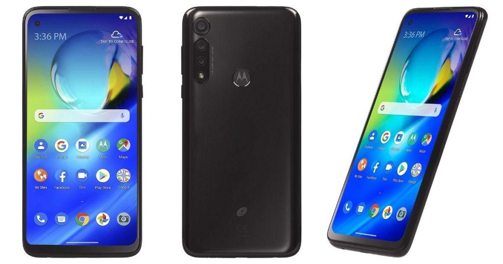 3 views of TracFone Motorola Moto G Power