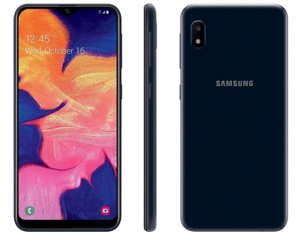 3 views of TracFone Samsung Galaxy A10e 4G LTE