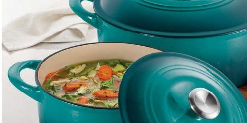Tramontina Cast Iron Dutch Oven 2-Pack Only $48.99 Shipped on Costco.com
