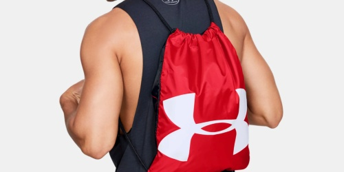 Under Armour Sackpack Just $7.49 Shipped (Regularly $18) + More Backpack Deals