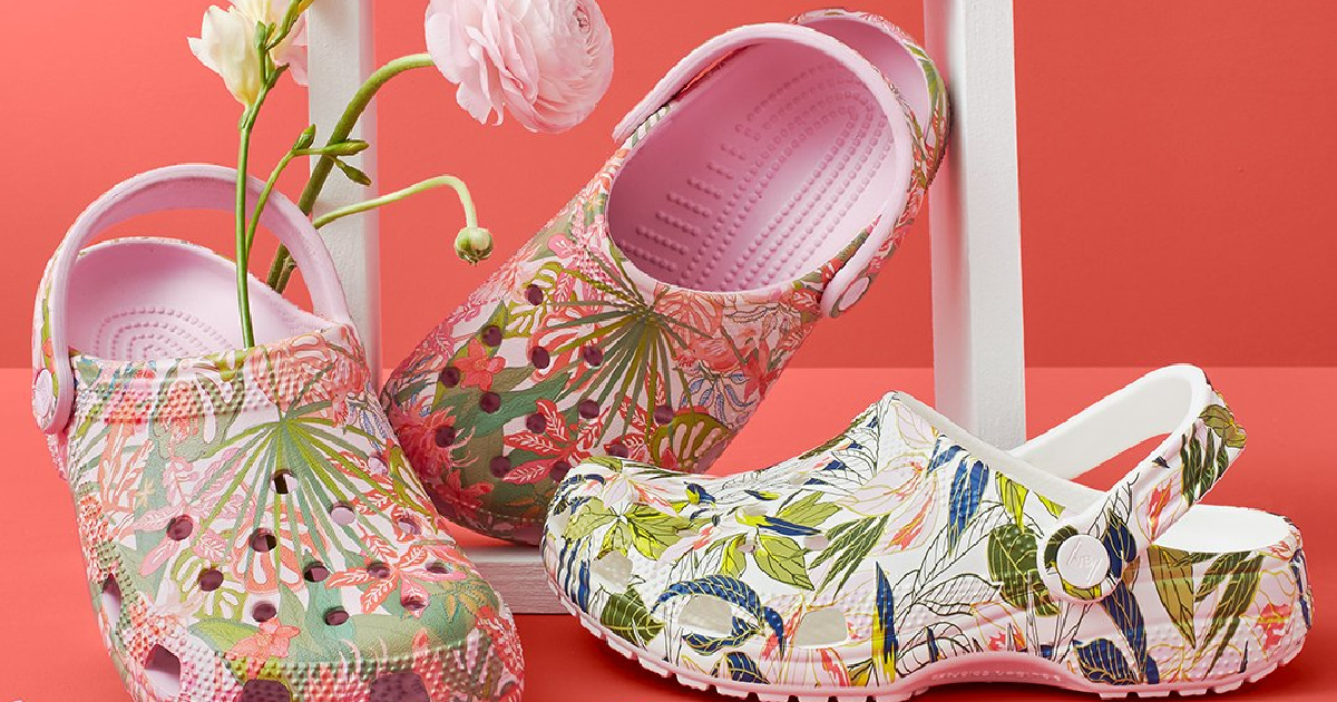 The Crocs Limited Edition Vera Bradley Collection is Now Available   Prices from $29.99 + Free Shipping