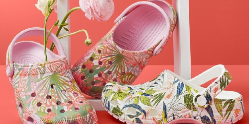 The Crocs Limited Edition Vera Bradley Collection is Now Available | Prices from $29.99 + Free Shipping