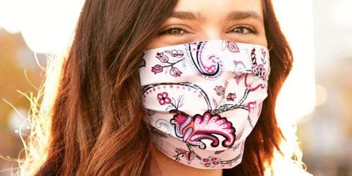 Vera Bradley Reusable Face Mask 2-Packs Only $1.70 Shipped + Bags & Accessories from $6.38