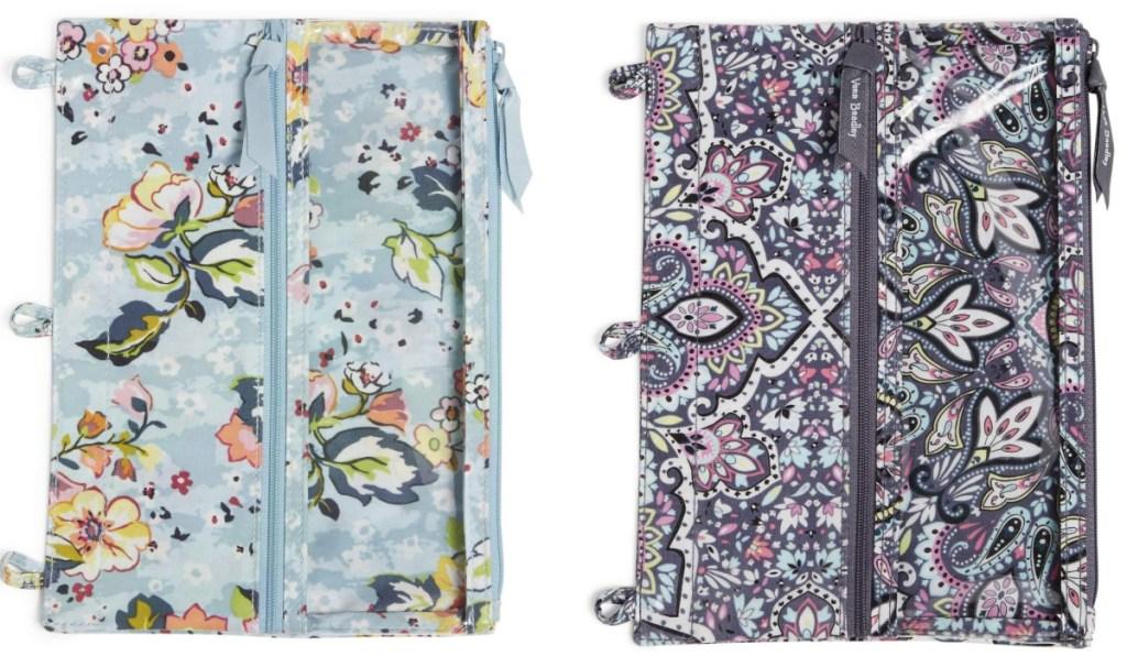 Vera Bradley Pencil Cases in paisley prints