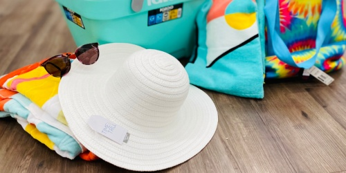Time and Tru Summer Hats & Visors from $5.97 at Walmart