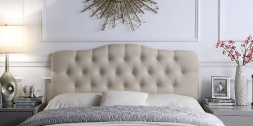 Upholstered Headboards from $77 Shipped + LOTS More Bedroom Furniture Deals