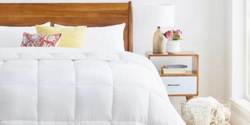 Microfiber Down Alternative Comforter from $23.56 on Wayfair.com (Regularly $60+)