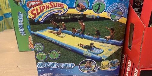 HUGE 26-Foot Wham-O Super Slip 'N Slide or Tobin Sports Floating Island Only $99.99 at Costco