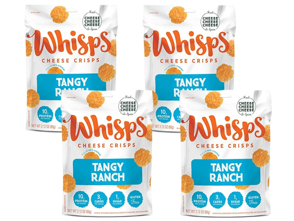 Whisps Cheese Crisps Tangy Ranch