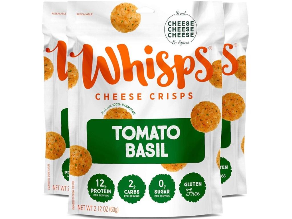 Whisps Cheese Crisps Tomato Basil