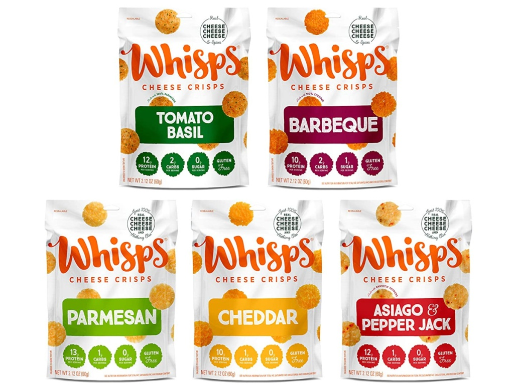 Whisps Cheese Crisps variety pack