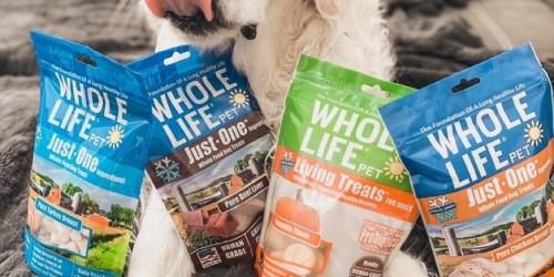 Whole Life Probiotic Dog Treats 3oz Bag Only $2.18 Shipped on Amazon (Regularly $4)