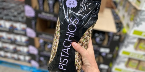 Wonderful Pistachios 3-Pound Bag Only $13.99 at Costco (Regularly $22)