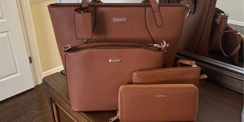 Fashion Handbag 4-Piece Sets From $30.59 Shipped on Amazon (Regularly $57)