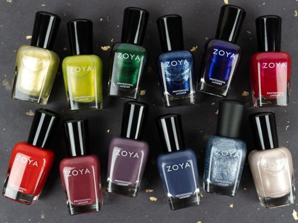 12 Zoya Nail Polishes