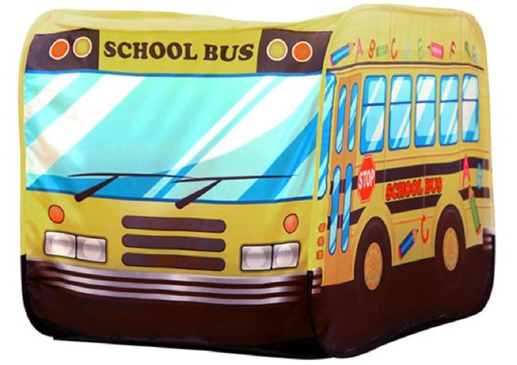 school bus playhouse