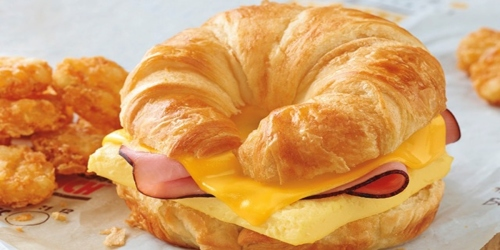 Free Burger King Croissan'wich w/ ANY $3 Purchase & App Sign Up